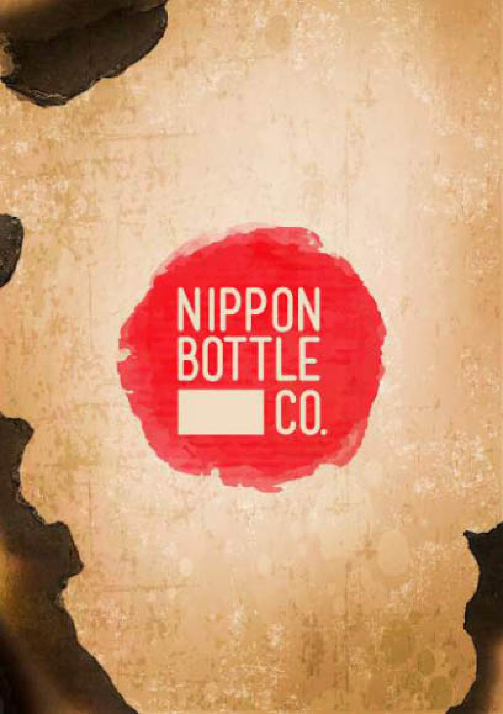 Nippon Bottle Co. Menu