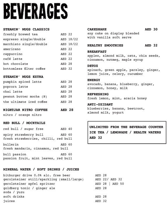 Brothaus Bakery Bistro Menu